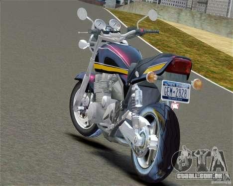 Kawasaki Zephyr para GTA 4 esquerda vista