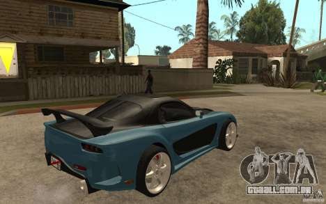 Mazda RX 7 VeilSide para GTA San Andreas vista direita