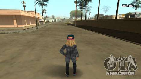 Skin Pack The Rifa para GTA San Andreas nono tela