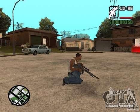 SR 25 para GTA San Andreas segunda tela