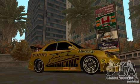 NFS Most Wanted - Paradise para GTA San Andreas oitavo tela