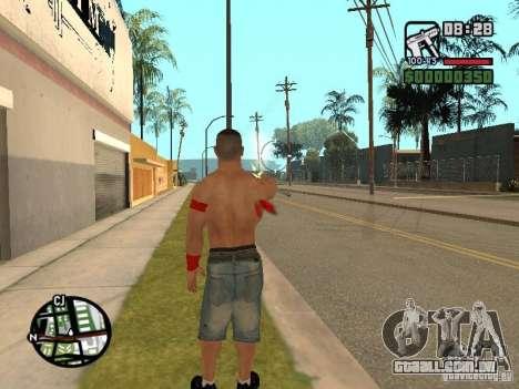 John Cena para GTA San Andreas quinto tela