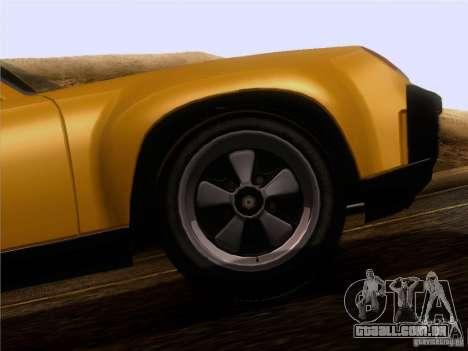 Porsche 914-6 para GTA San Andreas vista interior