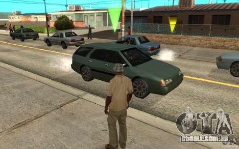 Proteção para o Cj para GTA San Andreas segunda tela