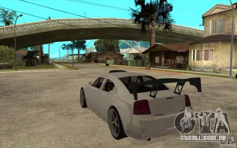 Dodge Charger 2009 para GTA San Andreas traseira esquerda vista