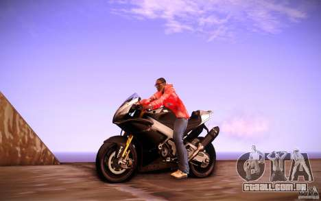 Aprilia RSV-4 Black Edition para GTA San Andreas