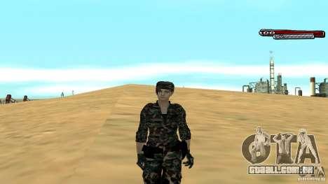 Soldado HD para GTA San Andreas quinto tela
