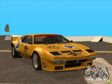 1972 DeTomaso Pantera para GTA San Andreas