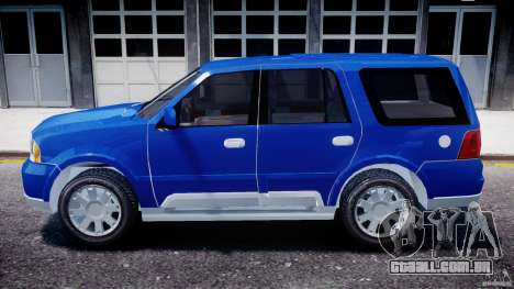 Lincoln Navigator 2004 para GTA 4 esquerda vista