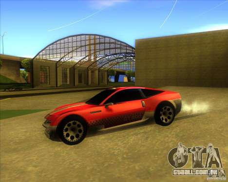 Exage para GTA San Andreas vista direita