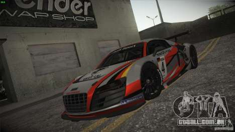 Audi R8 LMS para as rodas de GTA San Andreas