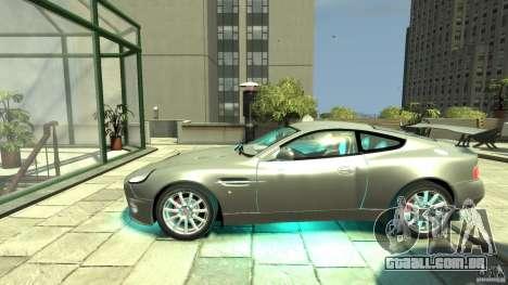 Aston Martin Vanquish S v 2.0 sem tonificação para GTA 4 esquerda vista