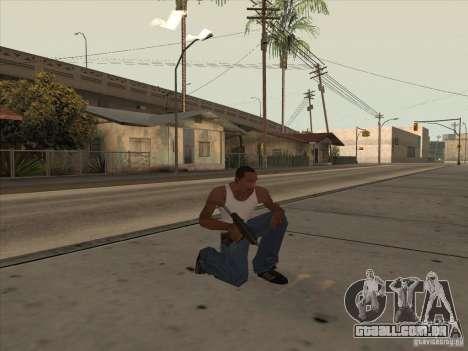 Novo pacote de armas nacionais para GTA San Andreas por diante tela