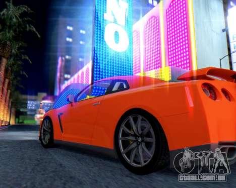 Real World ENBSeries v5.0 Final para GTA San Andreas por diante tela