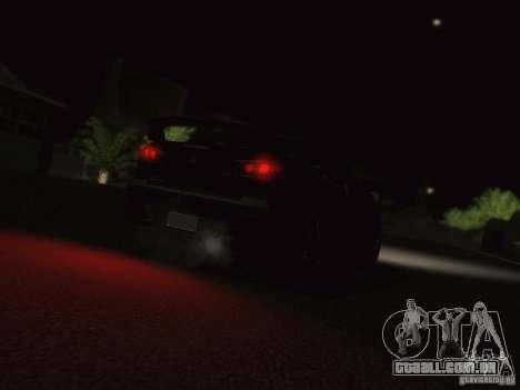 Mitsubishi  Lancer Evo X BMS Edition para GTA San Andreas vista traseira