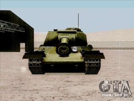 T-34 para GTA San Andreas vista direita