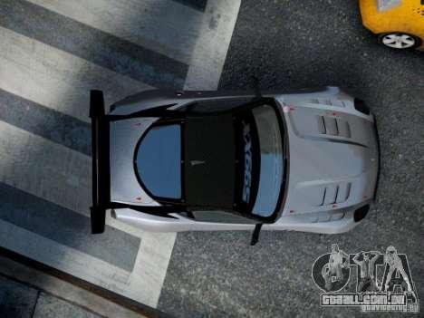 Ferrari 599xx 2012 para GTA 4 vista de volta