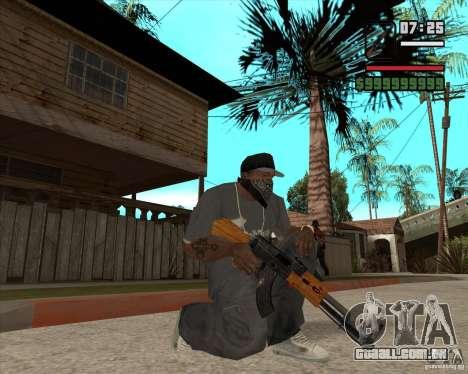 AK 47 de Xenus 2 para GTA San Andreas