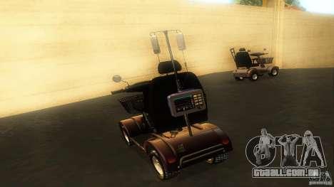 Elektroscooter - Speedy para GTA San Andreas vista interior