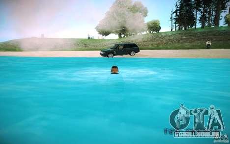 Água de HD para GTA San Andreas sexta tela
