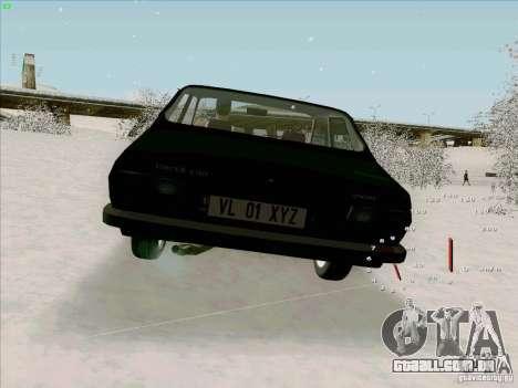 Dacia 1310 Sport para GTA San Andreas traseira esquerda vista