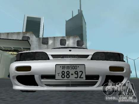Nissan Skyline R32 Zenki para vista lateral GTA San Andreas