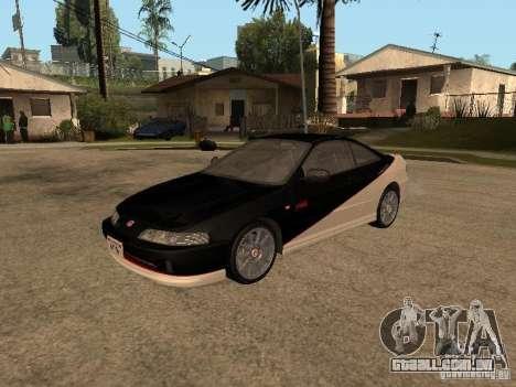 Honda Integra 2000 para GTA San Andreas vista traseira