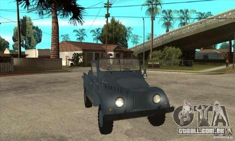 ARO Simple para GTA San Andreas vista traseira