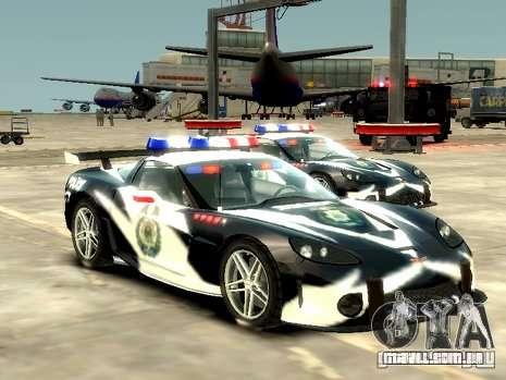 Chevrolet Corvette Z06 Police para GTA 4