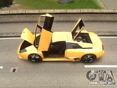 Lamborghini Murcielago LP640 2007 para GTA 4 traseira esquerda vista