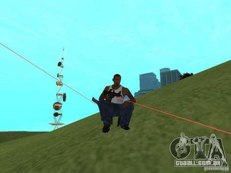 Laser Weapon Pack para GTA San Andreas quinto tela