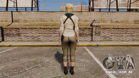 Sherry Birkin para GTA 4 terceira tela