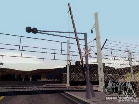 FERROVIÁRIA atravessando RUS V 2.0 para GTA San Andreas