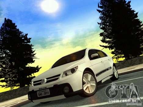 Volkswagen Gol Rallye 2012 para GTA San Andreas