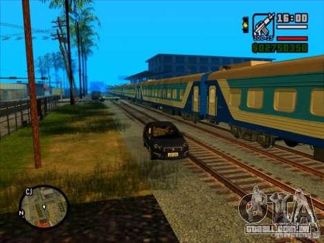 Trem longo para GTA San Andreas terceira tela
