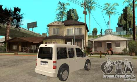 Ford Transit Connect 2007 para GTA San Andreas vista direita