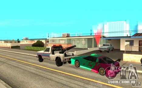 O slide mestre para GTA San Andreas por diante tela