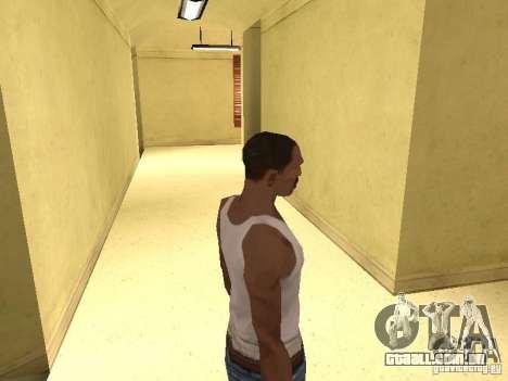 A entrada para o Hospital de Los Santos para GTA San Andreas quinto tela