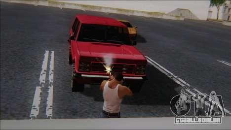 SCAR - H para GTA San Andreas por diante tela
