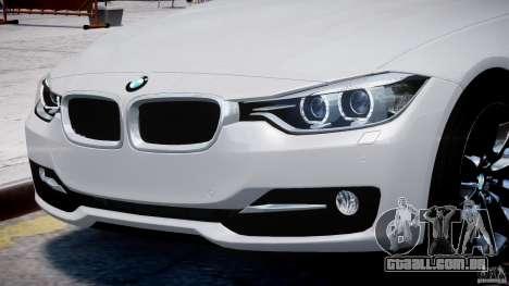 BMW 335i E30 2012 Sport Line v1.0 para GTA 4 motor