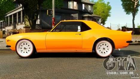 Chevrolet Camaro Z28 1969 para GTA 4 esquerda vista