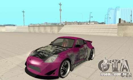 Nissan 350Z Tuning para GTA San Andreas
