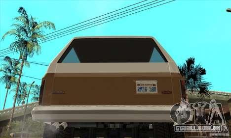 Ford Ranger para GTA San Andreas vista direita