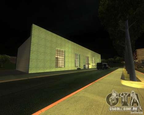 Uma movimentada estação de trem em San Fierro para GTA San Andreas