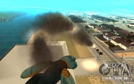 Metal gear ray para GTA San Andreas terceira tela