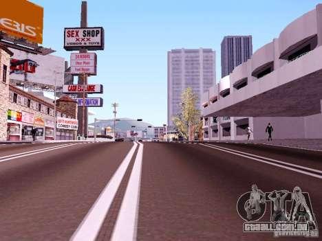 New Roads para GTA San Andreas segunda tela