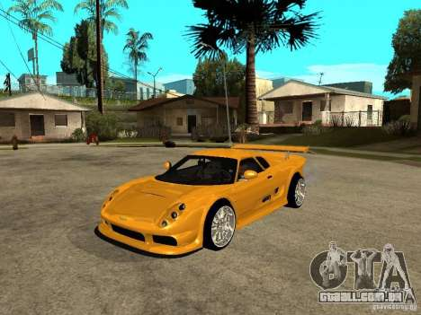 Noble M12 GTO Beta para GTA San Andreas
