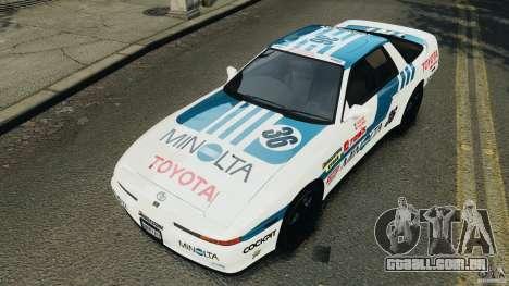 Toyota Supra 3.0 Turbo MK3 1992 v1.0 [EPM] para GTA 4 rodas