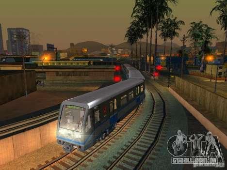 Novo sinal de trem para GTA San Andreas quinto tela