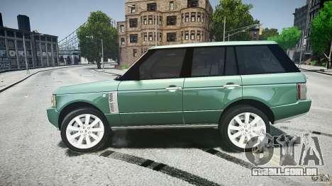Range Rover Supercharged v1.0 para GTA 4 vista superior
